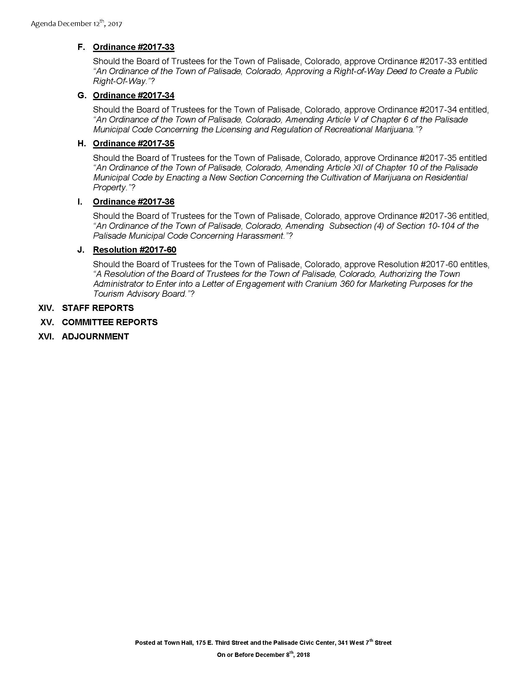 December 12th 2017 Board Meeting Agenda Page 3