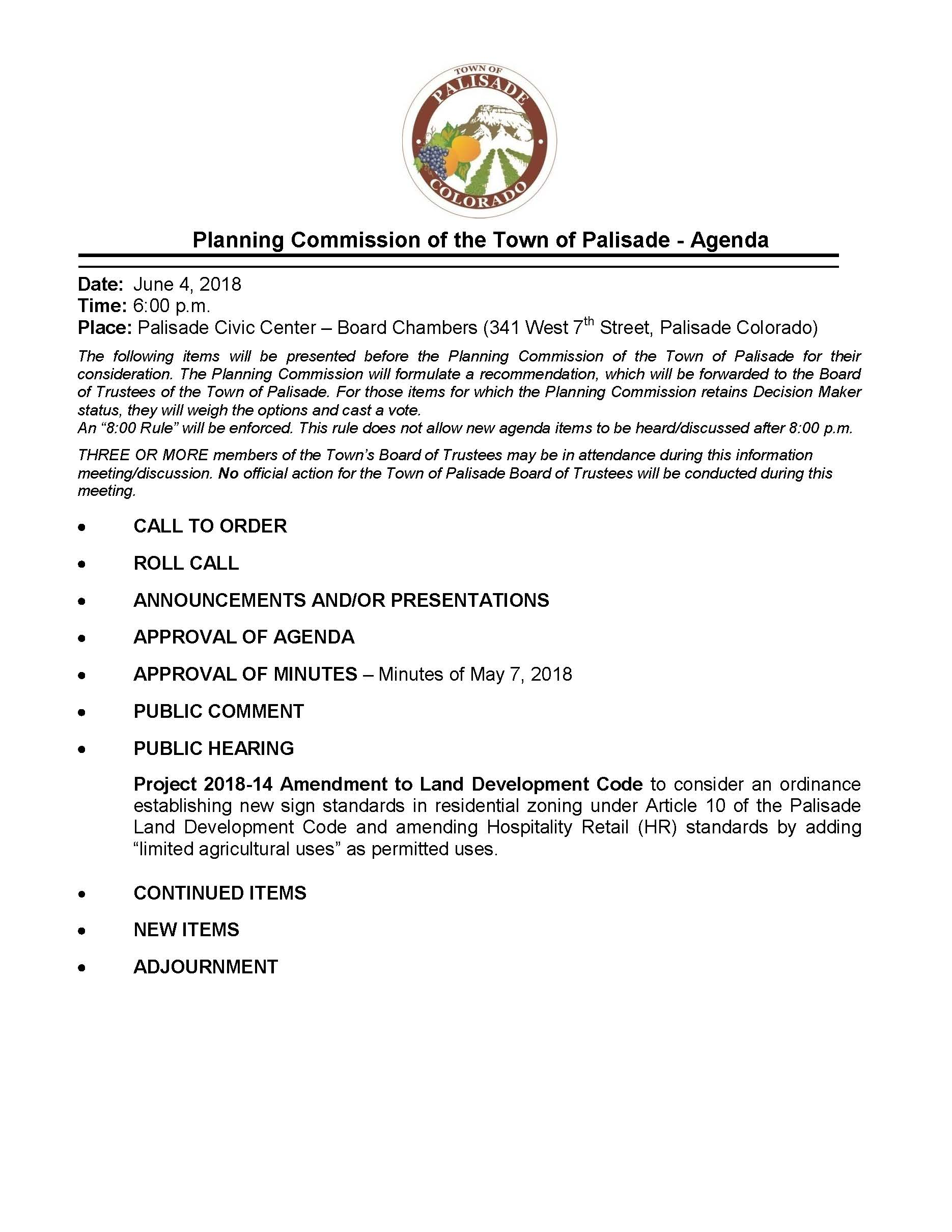 June 4 Planning Commission Packet Page 01
