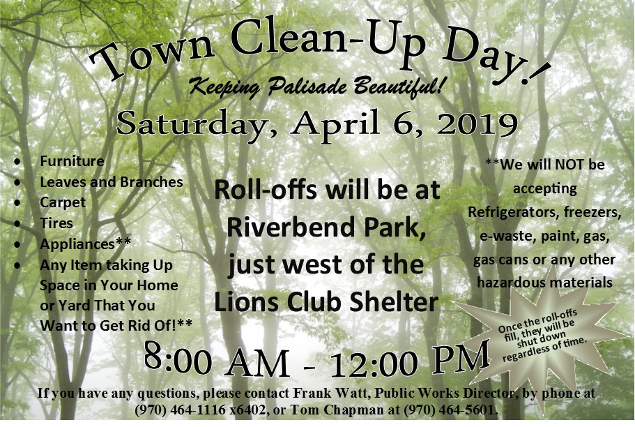 2019 Town Clean Up Day